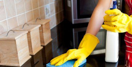 تنظيف وترميم المنازل