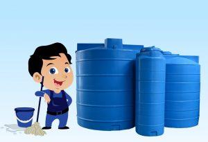 مراحل تنظيف خزانات مياه الشرب